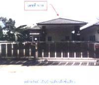 บ้านเดี่ยวหลุดจำนอง ธ.ธนาคารกรุงไทย ทุ่งตำเสา หาดใหญ่ สงขลา
