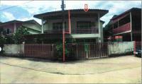 บ้านแฝดหลุดจำนอง ธ.ธนาคารอาคารสงเคราะห์ คลองแห หาดใหญ่ สงขลา